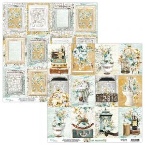 papier scrapbook Mintay Papers - old manor 06