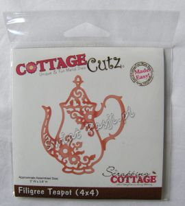 wykrojnik Cottage Cutz - filigree teapot [4-480]