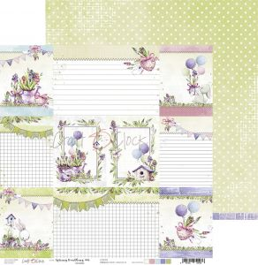 papier scrapbook Craft o'clock - spring bustling 06