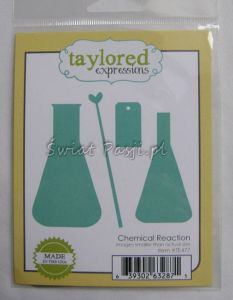 wykrojnik Taylored expressions - chemical reaction