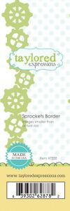 wykrojnik Taylored expressions - sprockets border