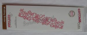 wykrojnik Cottage Cutz - wedding border [07-005]