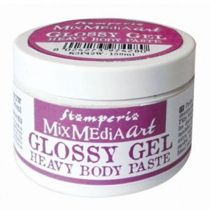 pasta heavy body glossy gel Stamperia - błyszcząca 150ml