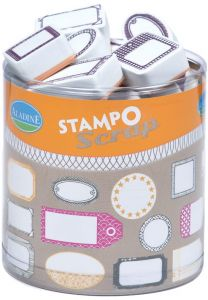 stemple Aladine - stamp O scrap: etykiety