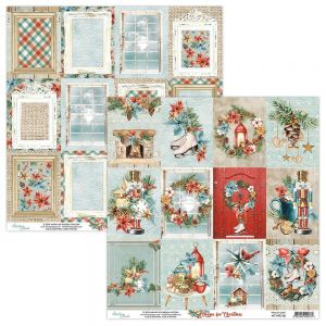 papier scrapbook Mintay Papers - home for christmas 06