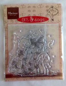 stempel silikonowy - Cat & Dogs [CD3504]