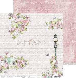 papier scrapbook Craft o'clock - felici'tea' 02