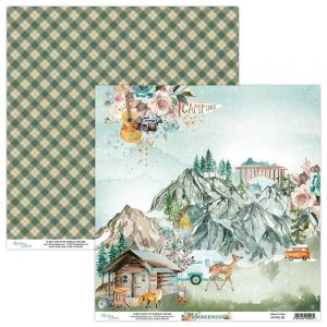 papier scrapbook Mintay Papers - wilderness 03
