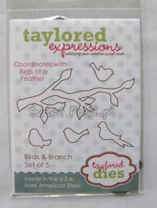 wykrojnik Taylored expressions - birds & branch