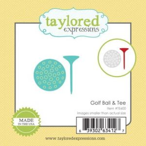 wykrojnik Taylored expressions - golf ball & tee [TE600]