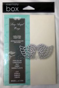 wykrojnik Memory Box - lacy angel wings [99228]
