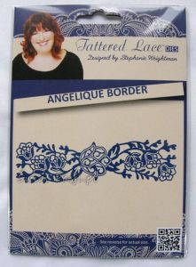 wykrojnik Tattered Lace - angelique border [D480]