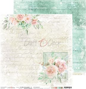papier scrapbook Craft o'clock -  hello beauty 02