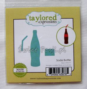 wykrojnik Taylored expressions - soda bottle