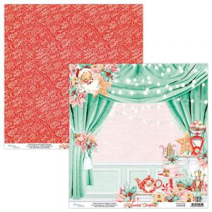 papier scrapbook Mintay Papers - the sweetest christmas 02