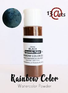 farba akwarelowa Rainbow Color Duo 13Arts - black