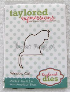 wykrojnik Taylored expressions - window cat