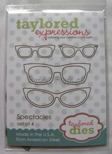 wykrojnik Taylored expressions - spectacles