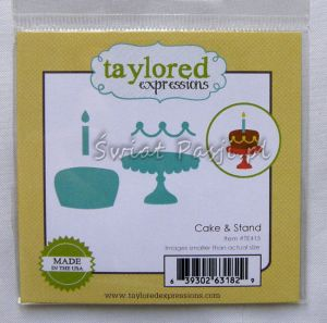 wykrojnik Taylored expressions - cake & stand [TE415]
