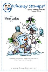 stempel gumowy Wee stamps - miss Frosty