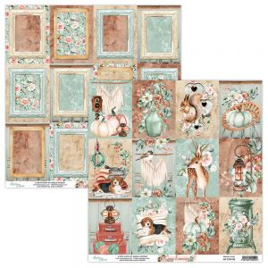 papier scrapbook Mintay Papers - cozy evening 06