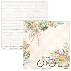 papier scrapbook Mintay Papers - bloomville 01