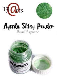 proszek Shiny Powder 13Arts - green