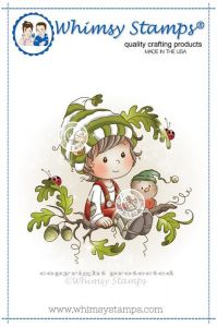 stempel gumowy Wee stamps - oak tree boy