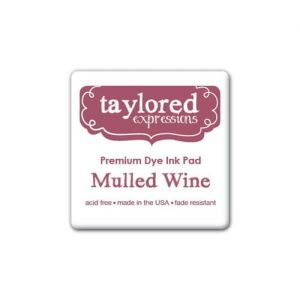 tusz Taylored Expressions - mulled wine (bordowy)