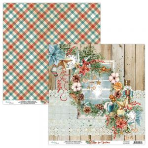 papier scrapbook Mintay Papers - home for christmas 01