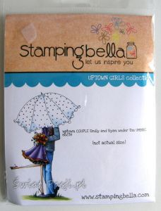 stempel gumowy Stamping Bella - Emily & Ryan under umbrella [2395]