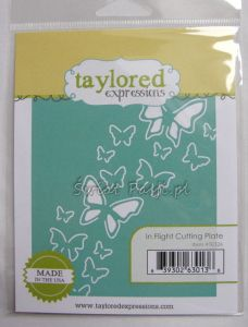 wykrojnik Taylored expressions - in flight cutting plate
