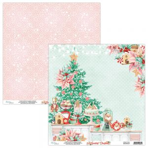 papier scrapbook Mintay Papers - the sweetest christmas 01
