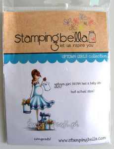 stempel gumowy Stamping Bella - uptown girl has a baby shower [2470]