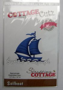 wykrojnik Cottage Cutz - sailboat [cce-393]