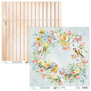 papier scrapbook Mintay Papers - bloomville 02