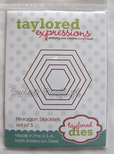 wykrojnik Taylored expressions - hexagons stacklets