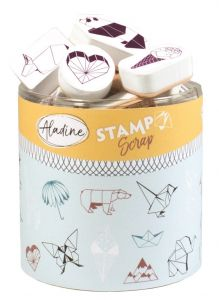 stemple Aladine - stamp O scrap: origami