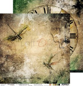 papier scrapbook Craft o'clock - faded memories 06