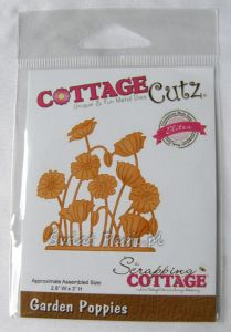 wykrojnik Cottage Cutz - garden poppies [CCE-115]