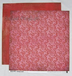 papier scrapbook Basic Grey - kissing both [kis-3559]