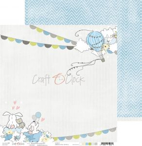 papier scrapbook Craft o'clock - sweet prince 03