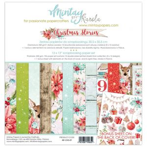 papier scrapbook Mintay Papers- christmas stories [bloczek/pad]