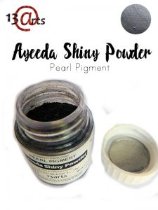 proszek Shiny Powder 13Arts - luster black