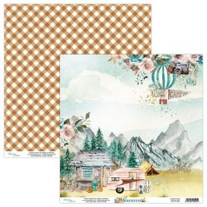 papier scrapbook Mintay Papers - wilderness 02