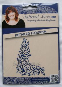 wykrojnik Tattered Lace - detailed flourish [D218]