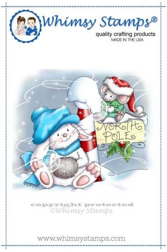 stempel gumowy Crissy Armstrong Collection - 2 christmas tales at the north pole