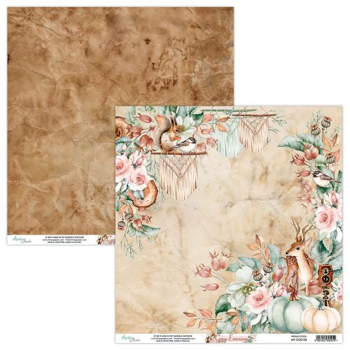 papier scrapbook Mintay Papers - cozy evening 03