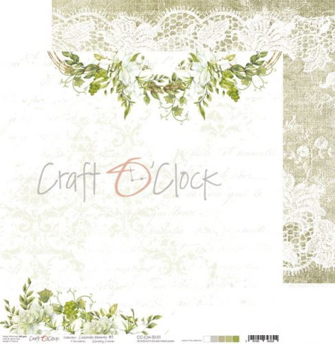 papier scrapbook Craft o'clock - celebrate moments 01