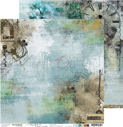papier scrapbook Craft o'clock - hazy street 01